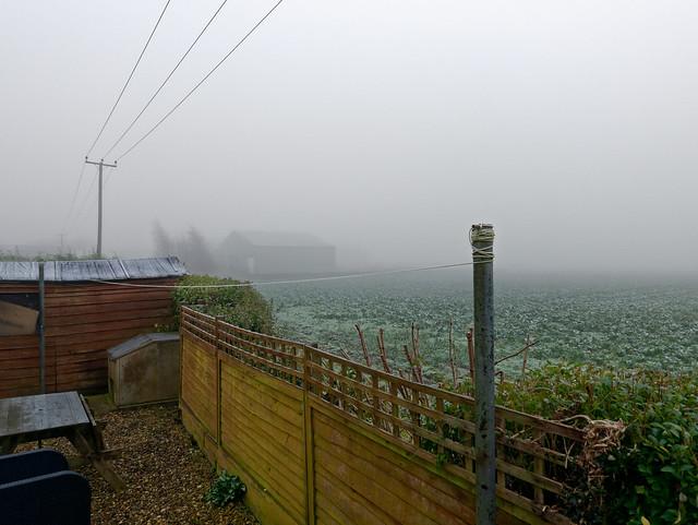 Morning Fog over the Fens