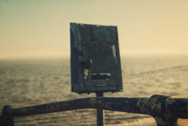 Boîte aux lettres à la mer