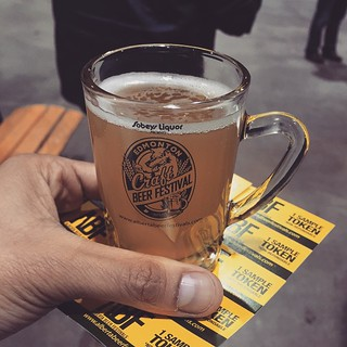 My first baby beer at #BeerFest | by d0ndy