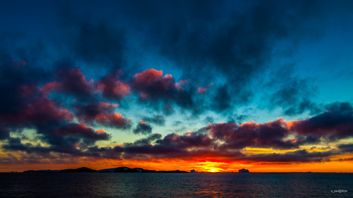 Sunset @ Petermann Island, Penola Strait, Antarctica | by x_tan