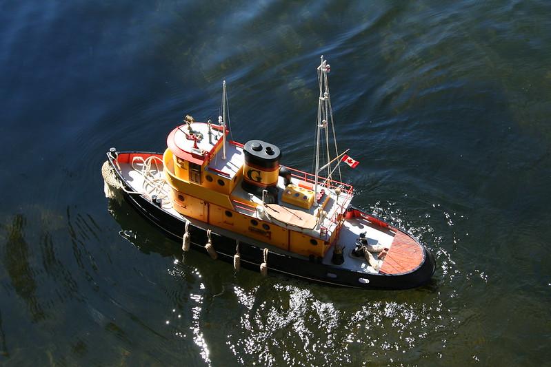 Tugboat Turning