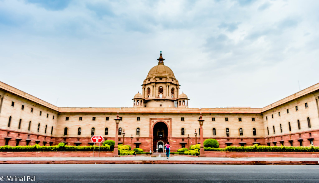 Rashtrapati Bhawan Tourist Places in Delhi