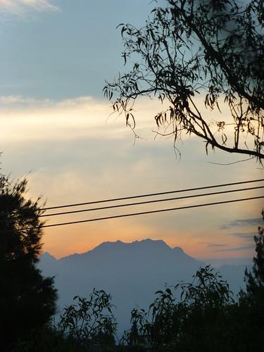 Iztaccihuatl from the Puebla-Cuautla Highway