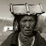pilgrime , Mustang, Népal