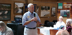 Shelterbox USA Ambassador Jim Miller talks about their work.