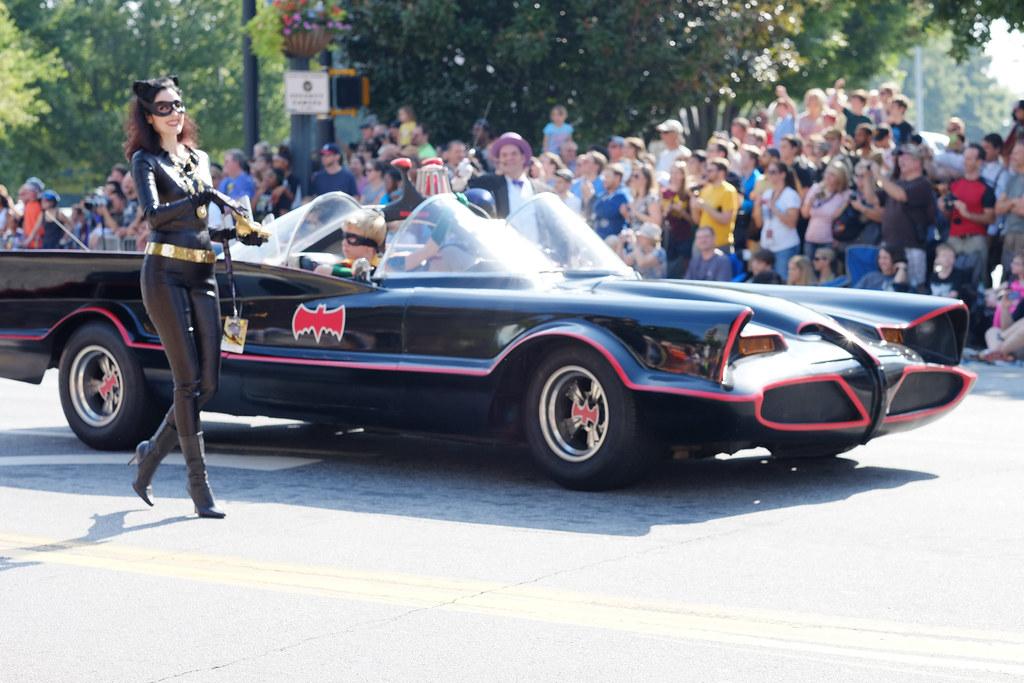 Batgirl and the Batmobile | Sean Davis | Flickr