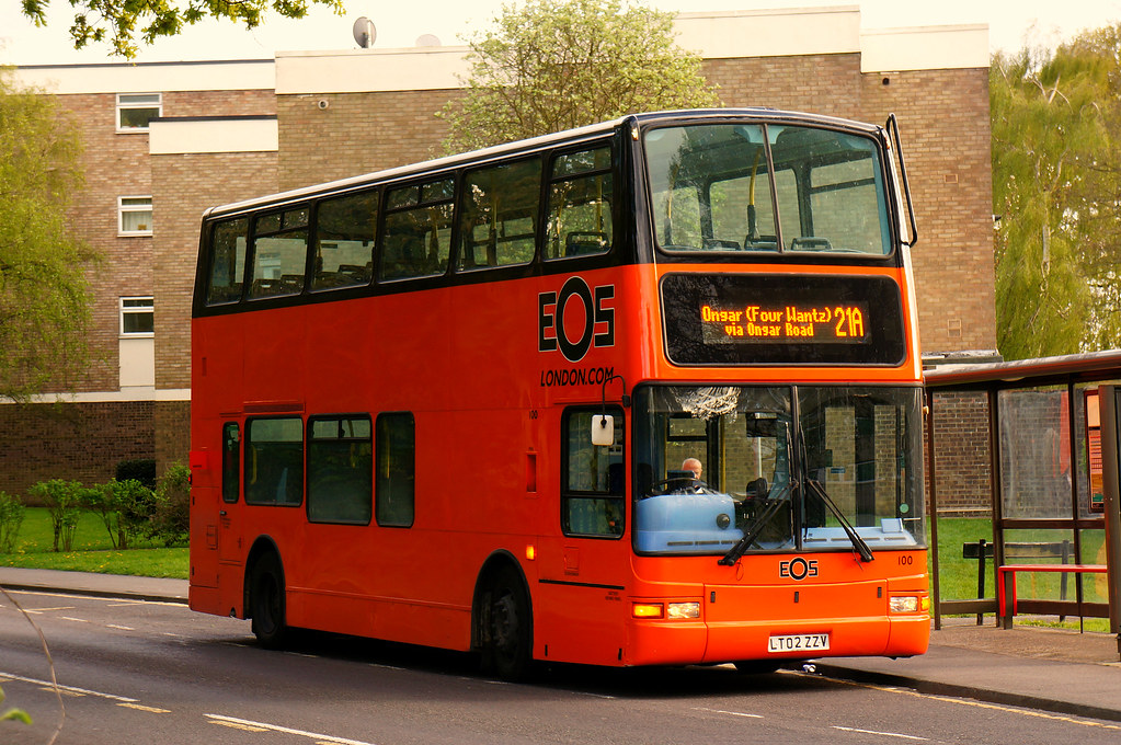 Rare Working Eos London 100 Lt02zzv On Route 21a At War