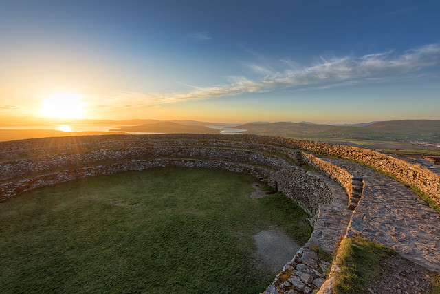 Grainan of Aileach Ring Fort - Donegal - Ireland