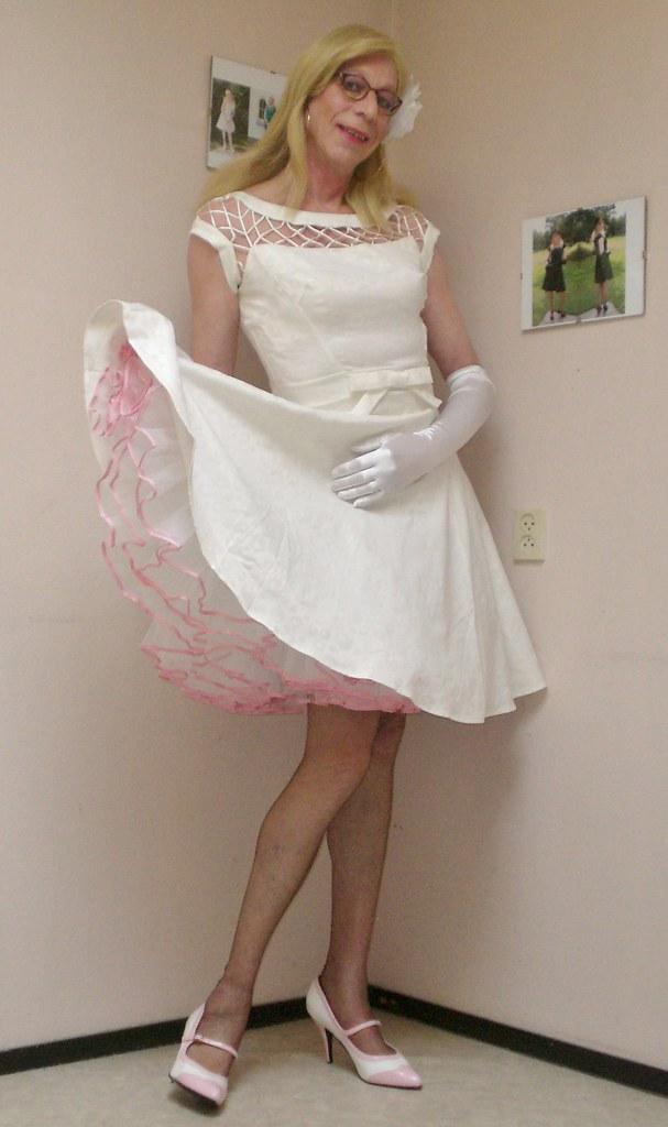 My white dress.