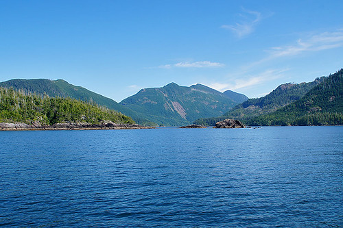 Malksope Inlet north of Kyuquot Sound, West Coast Vancouver Island, British Columbia. Photo: Santa Brussouw.