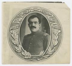 Gral. Pablo Gonzalez, en Jefe del Cuerpo Ejercito de Oriente
