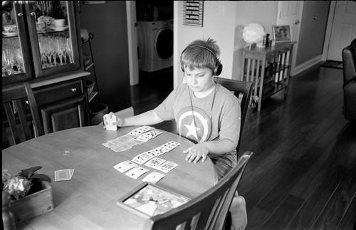 Leica III 35 Summaron Jack, King of Cards 05-09-2015.     f/3.5 @1/10 sec.  Handheld. | by Gregory Heath