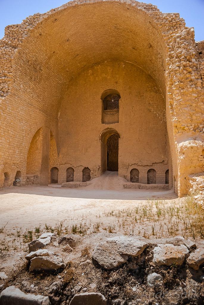 древний зороастрийский храм. Иран.