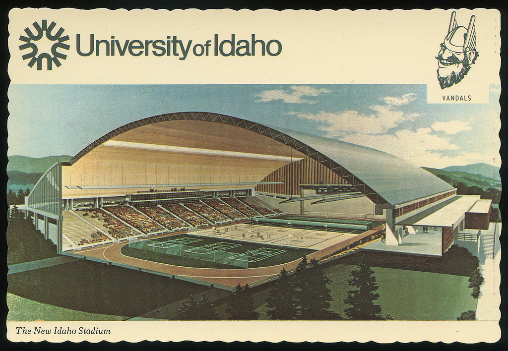 Kibbie Dome The New Idaho Stadium University Of Idaho C