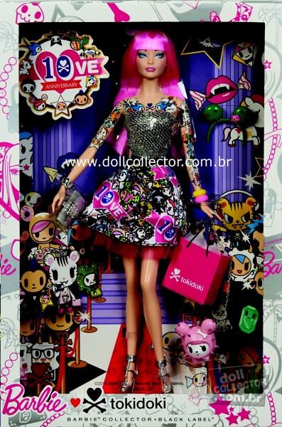 Barbie Tokidoki 2015 detail