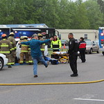 May 5, 2016 - 09:41 - Camden County Mock Wreck to raise awareness of drinking and driving. Credit: Tiffany Mentzer, Camden County Sheriff's Office