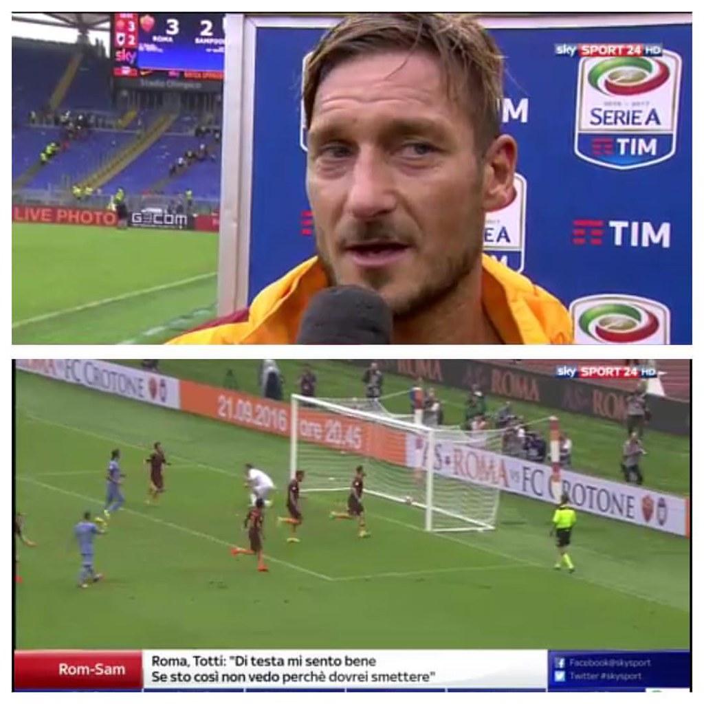 Gia Si Parla Del Rinnovo Di Totti Http Www Sportal It Flickr