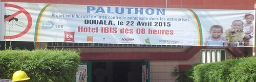 Paluthon Cameroun_Banderole Paluthon_Partenaires_22 04 2015 | by Santé En Entreprise