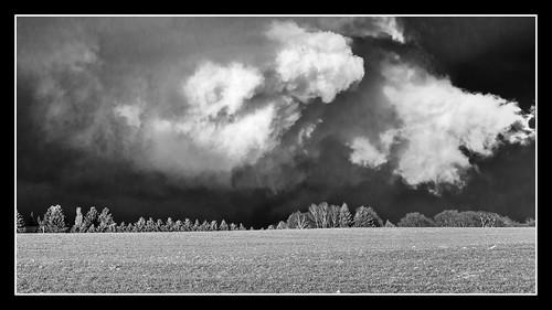 clouds snowfall chemnitz