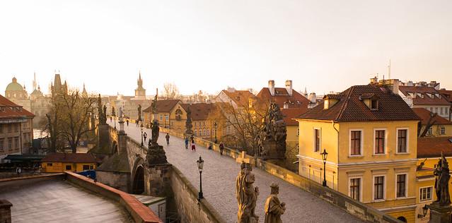 Prague Golden Morning