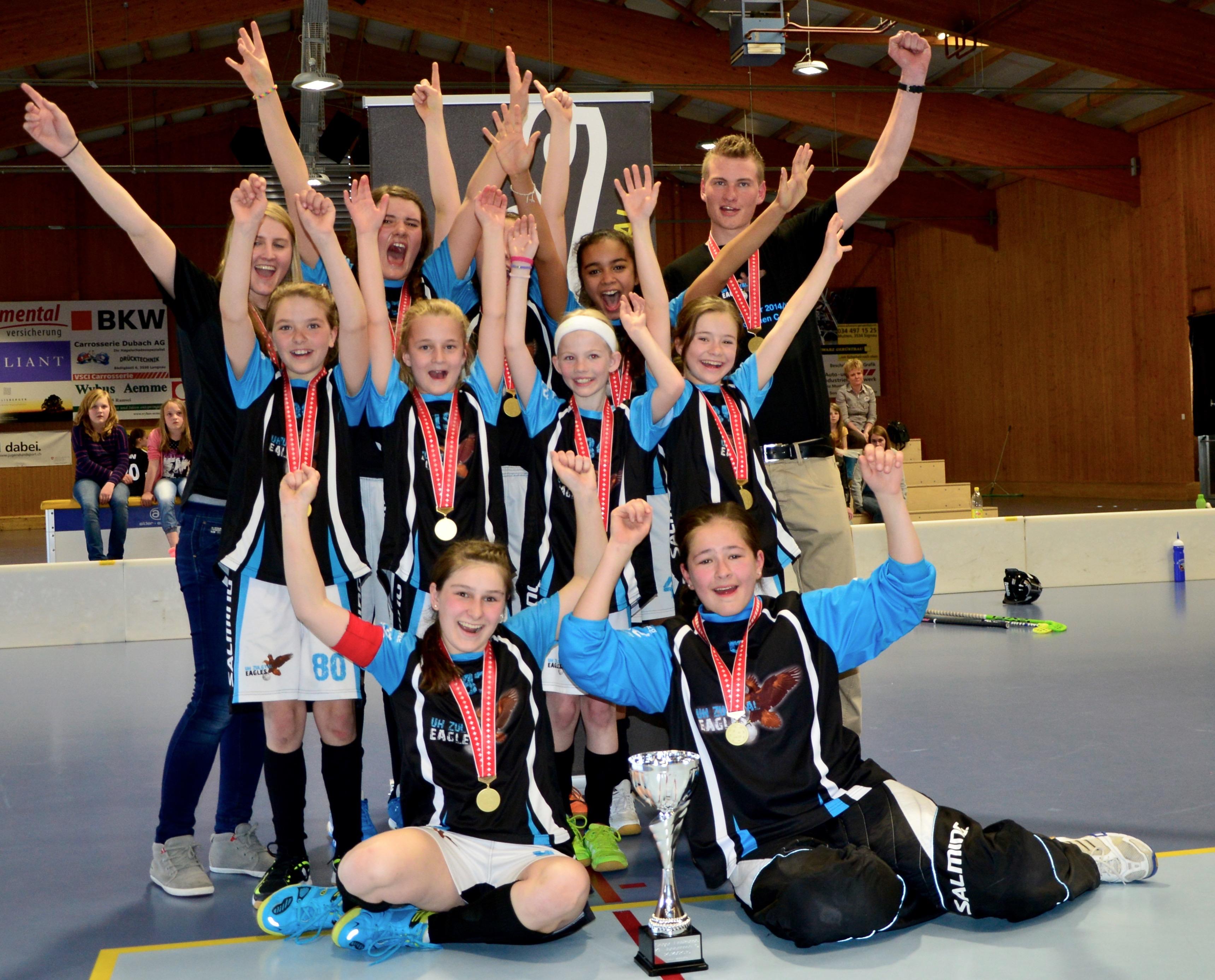 Juniorinnen C - Rang-und Finalspiele Saison 2014/15
