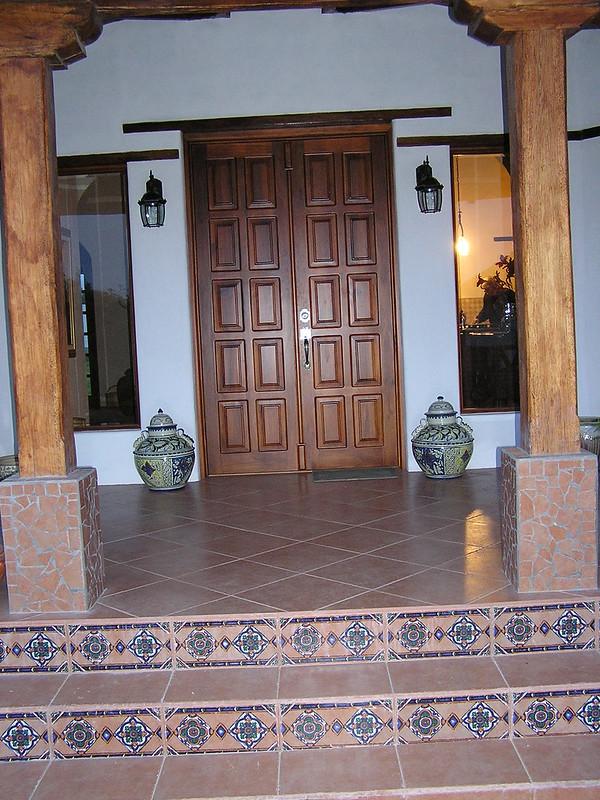 San Miguel - front door to house (2) - 16JAN12
