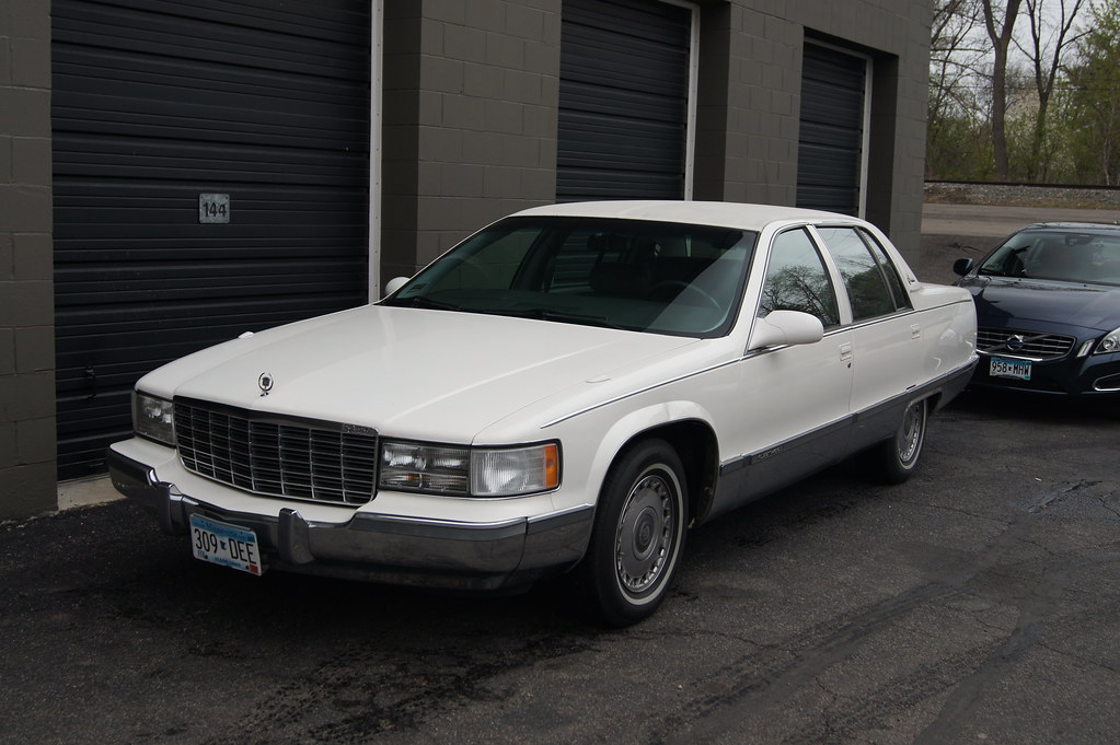1996 Cadillac Brougham   Classic Car Club of America ...