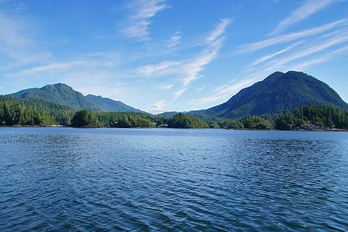 Kyuquot Village, Kyuquot Sound, Vancouver Island, British Columbia, Canada. Photo: Santa Brussouw.