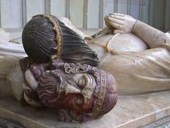 John de la Pole †1491 sleeps on a saracen's head