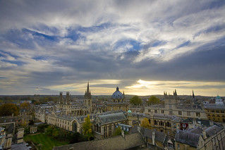 Radcliffe Camera from New College Tower | by miketnorton