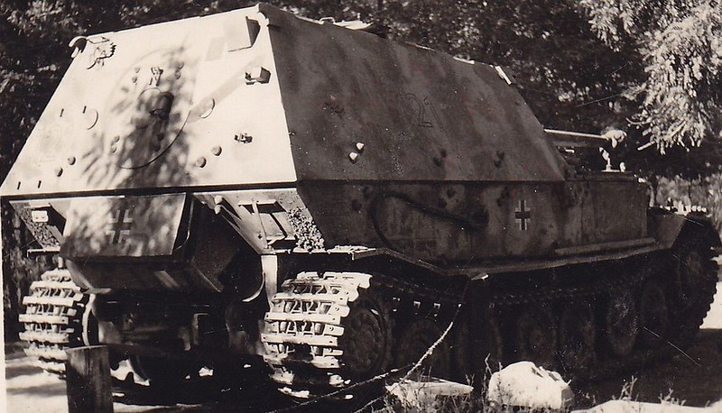 Ferdinand tank destroyer