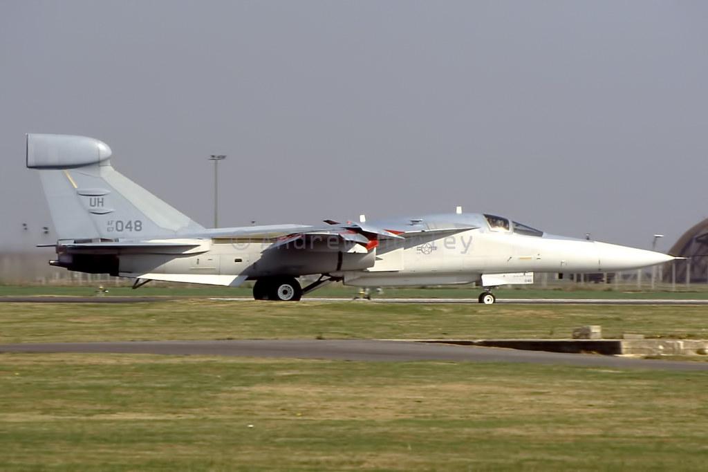 USAF EF-111A at Upper Heyford 1991.