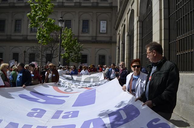 31ª Marea Blanca en defensa de la sanidad pública