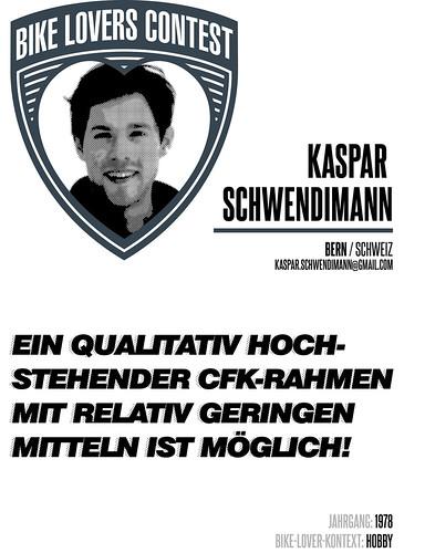 Plakat 15 Kaspar   by Bike Days Schweiz