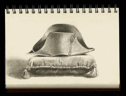 26, apr. napoleon's bicorne hat