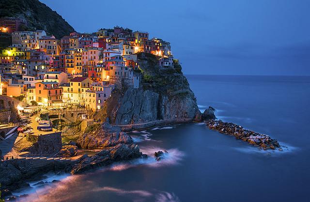 Manarola, Cinque Terre, Liguria, Italia.