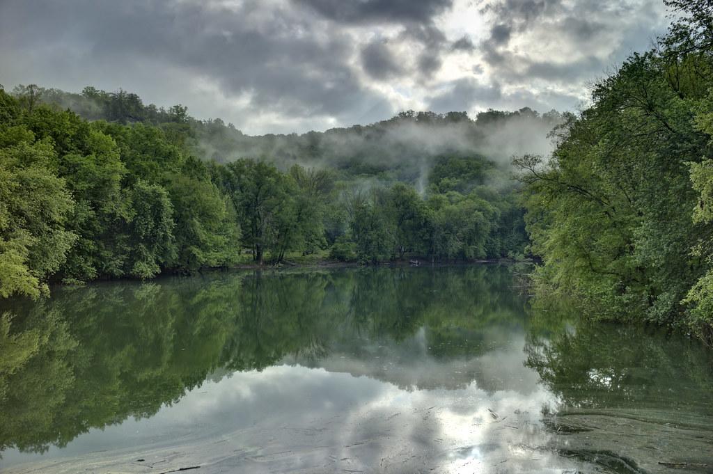Rockcastle River, Daniel Boone National Forest, Pulaski County, Laurel County, Kentucky 1