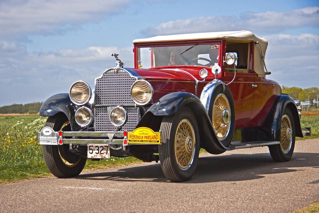 Packhard Standard Eight Convertible Coupé Series 626 Model 339 - 1929 (2998)