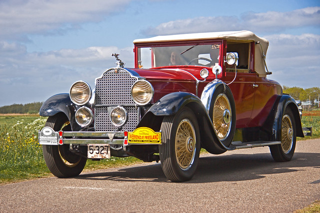 Packhard Standard Eight Convertible Coupé Series 626 Model 339 - 1929 (2998)