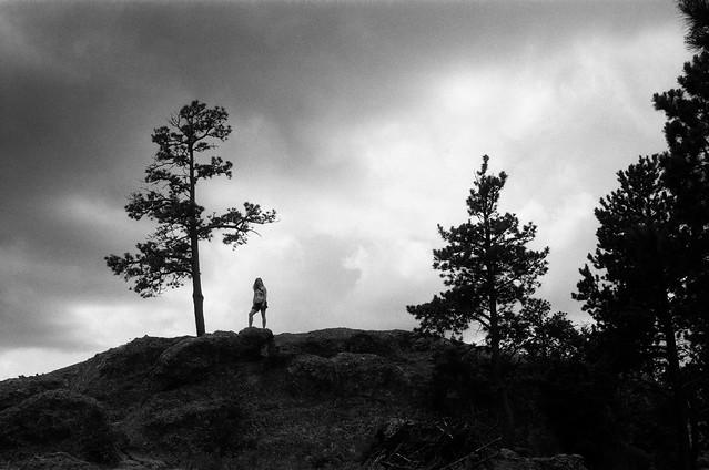 Ridgetop in the Black Hills