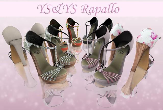 *YS&YS* Rapallo Heels