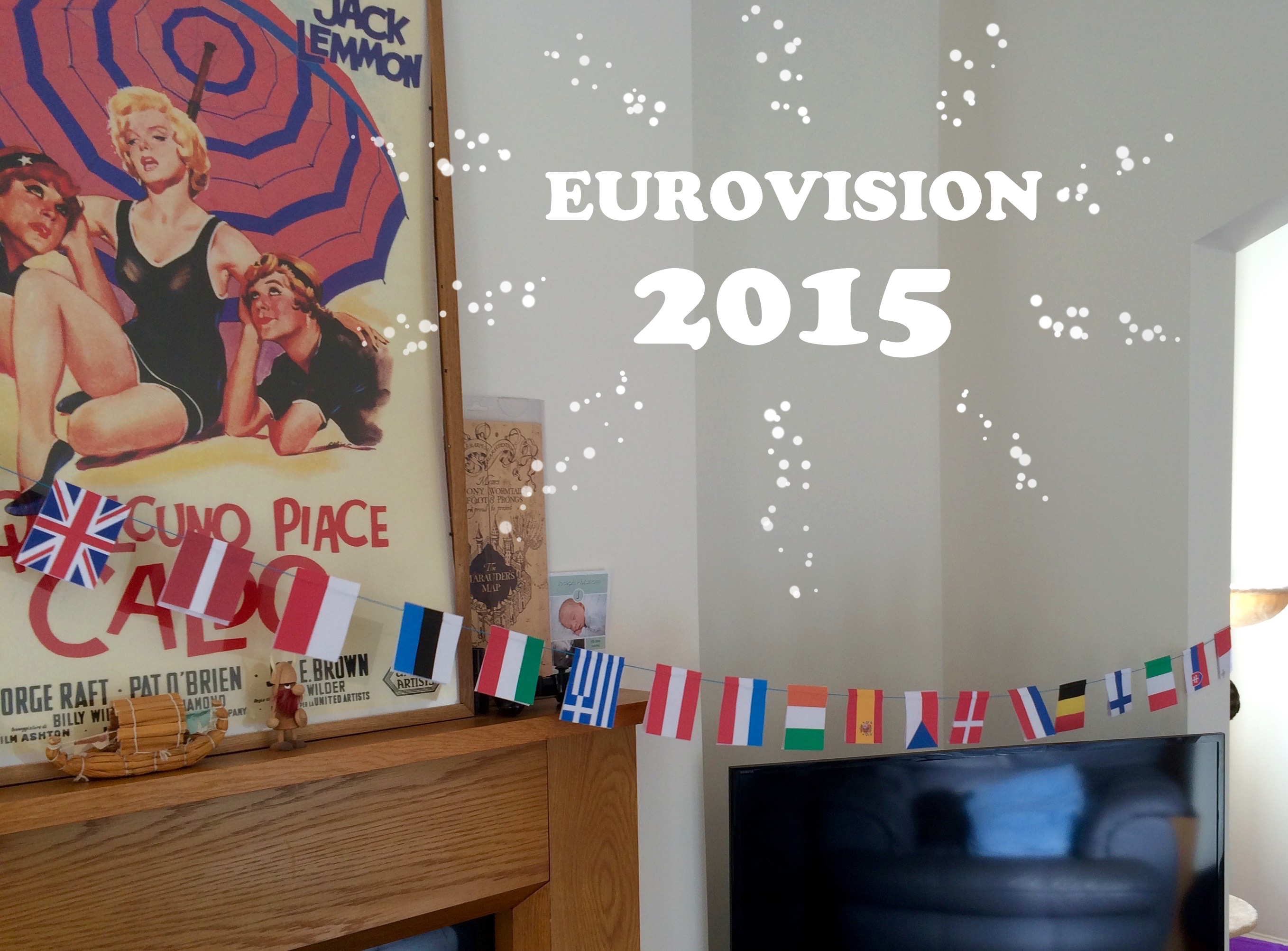 #BEDM We had a party for Eurovision 2015!
