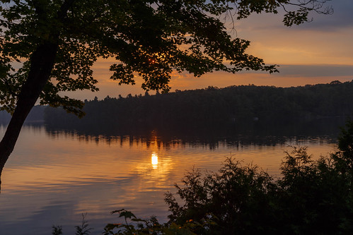 opinconlake sunrise
