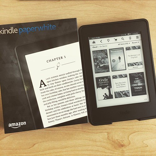So stoked. My new Kindle arrived today! Been living on the 2nd generation Kindle for way too long. Going to take the rest of the year off now to go and read. | by Jason Bagley