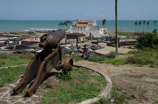 Elmina Castle from Fort St Jago