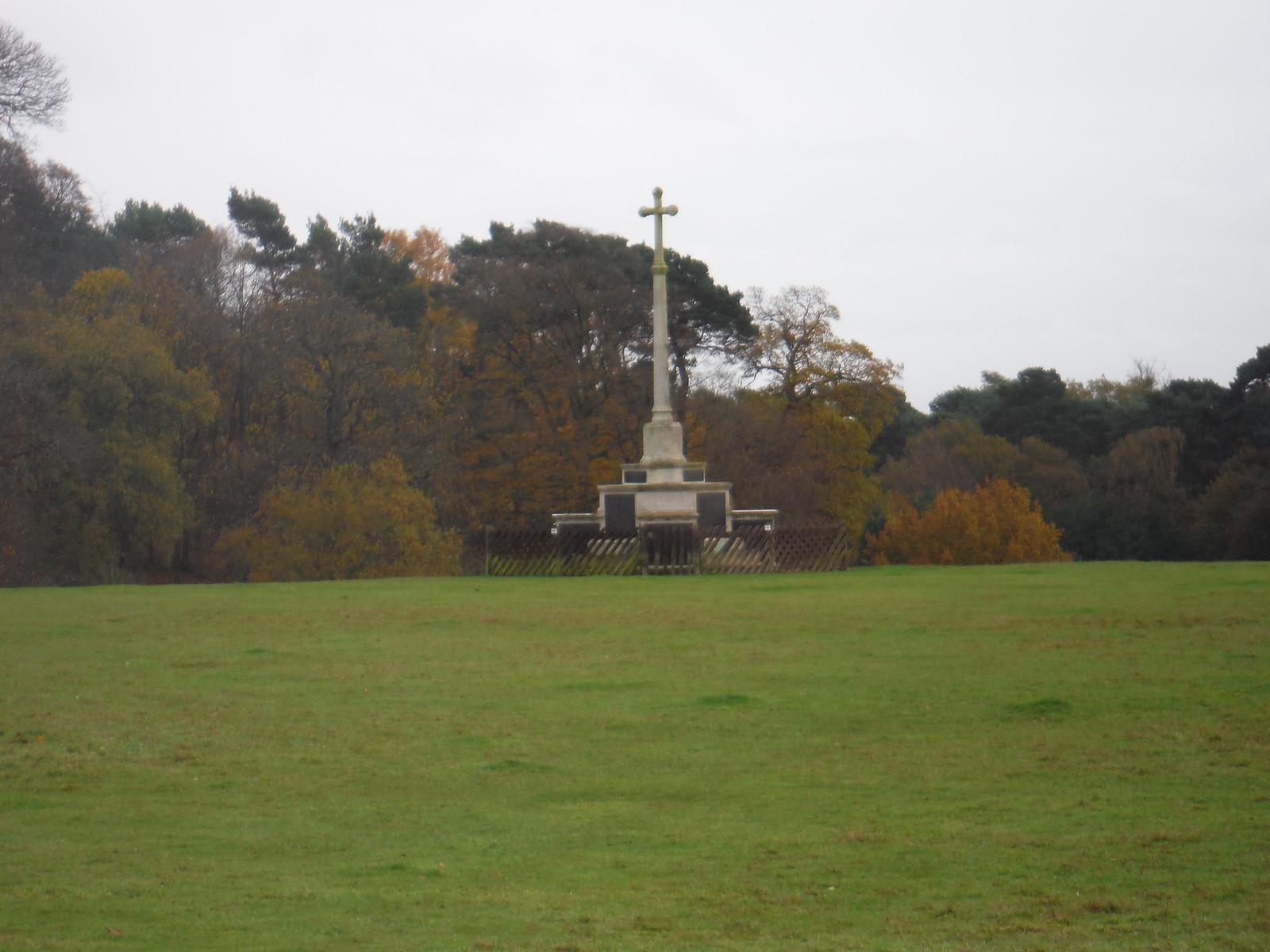 Ampthill Camp Memorial Cross SWC Walk 232 Lidlington to Flitwick