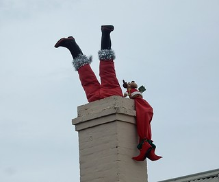 Clumsy Santa | by mikecogh