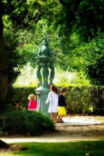 Nantes , le jardin des plantes