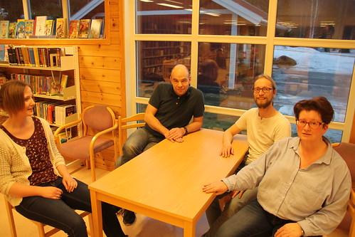 Vi prøver ut den nye sittegruppen | by buskfyb