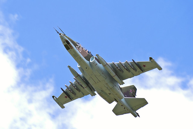 Su-25. Russian Air Force